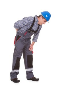 Male Worker Suffering With Pain