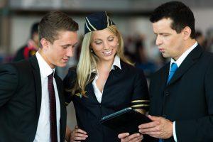 flight attendant, work compensation